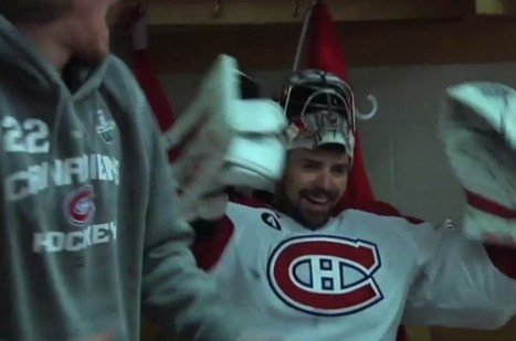Watch Canadiens prank Carey Price after his 43-save shutout in Game 6 | The Hockey News | Everything Hockey | Scoop.it