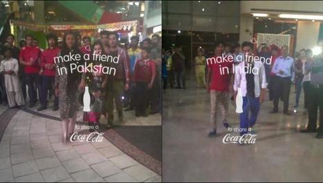 Coca-Cola : « Open Happiness » Entre Inde & Pakistan   Actualité Webmarketing, Buzz & Innovation   Scoop.it