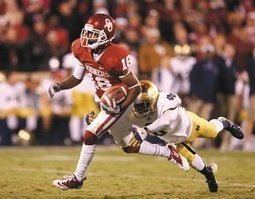 OU Needed Jalen Saunders Last Year And Will Call On Him Again In 2013 | Sooner4OU | Scoop.it