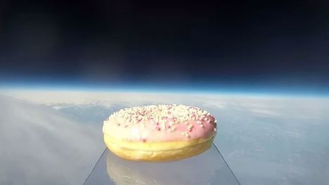 Watch What Happens When a Donut Goes to Space | INTRODUCTION TO THE SOCIAL SCIENCES DIGITAL TEXTBOOK(PSYCHOLOGY-ECONOMICS-SOCIOLOGY):MIKE BUSARELLO | Scoop.it