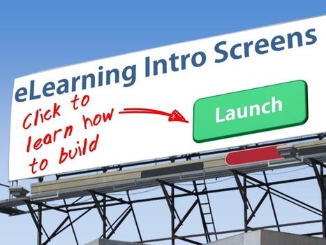 6 eLearning Intro Screen Ideas | BeBetter | Scoop.it