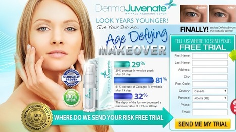 Derma Juvenate - Get 100% Free Trial Supplies Limited!!! | Derma Juvenate | Scoop.it
