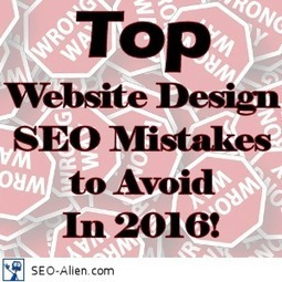 Top Website Design SEO Mistakes to Avoid In 2016 | Allround Social Media Marketing | Scoop.it