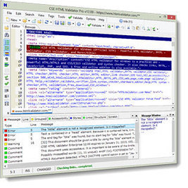 CSE HTML Validator for Windows (Official Site) - Powerful HTML / HTML5 / XHTML Validator, CSS / CSS3 Validator, and More   HTML5 AND CSS3   Scoop.it