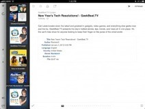 Subscribe to podcasts on your iPad without iTunes! | Apple Rocks! | Scoop.it