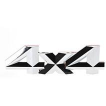 Car Accessories Shop –  Cool 4×4 Pattern Personalized Metal Car Decorative Stickers | +++ Car Accessories Shop | Scoop.it
