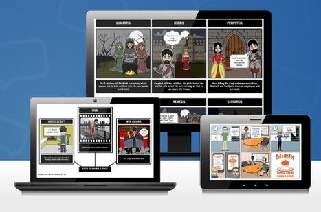 Herramientas online para crear guiones gráficos o storyboards | Con visión pedagógica: Recursos para el profesorado. | Scoop.it