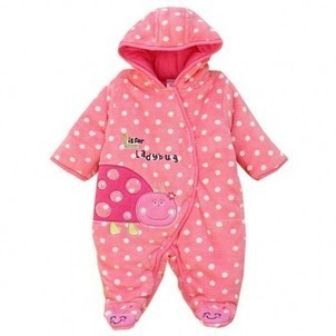 Discount Peach Ladybug Animal Onesie For Babies For Cheap Top Quality   Animal Onesie   Scoop.it