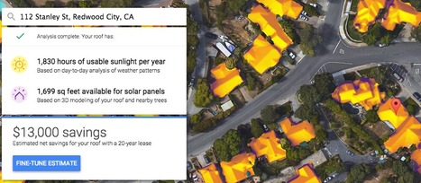 Are solar panels right for you? Google's new mapping tool can help you decide. | Geography Education | Scoop.it