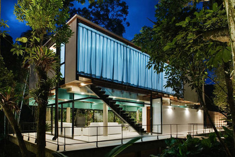 Almost Transparent Modern Residence In The Atlantic Rainforest | architecture, technology & business | Scoop.it