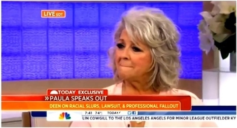 "Paula Deen Speaks Out On 'Today' Show, Pleads ""Please Pick Up That Stone and Throw It At Me"" 