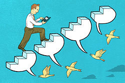Twittering, Not Frittering: Professional Development in 140 Characters | Edutopia | Instructional Technology-Telecommunications | Scoop.it