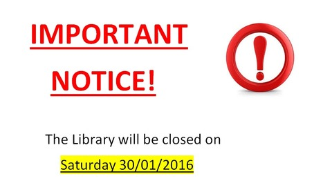 UNic Library will be closed on Saturday, Jan 30th | University of Nicosia Library | Scoop.it