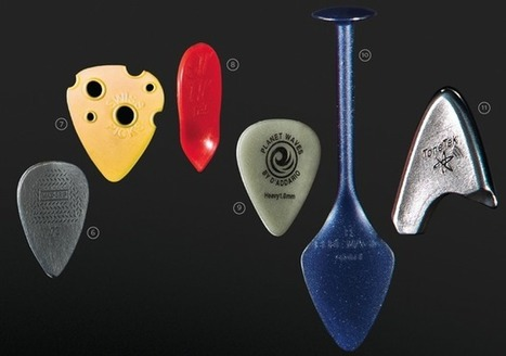 Picks with Pluck: 11 Guitar Picks That Dare to Be Different | Tune Town Talk | Scoop.it