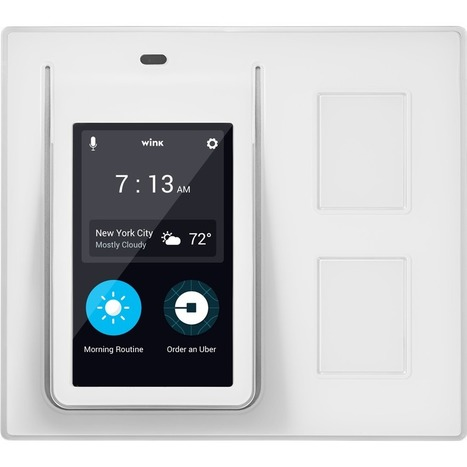 Wink Relay A Smart Home On Your Wall | Home Automation | Scoop.it