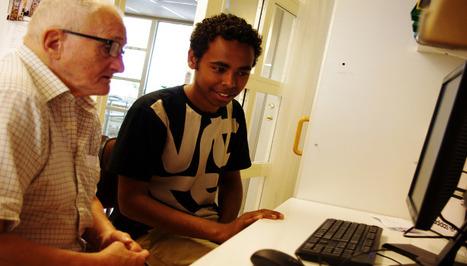 Innovativt Internetcafé där unga nysvenskar lär äldre   Digidel   IT-Lyftet & IT-Piloterna   Scoop.it