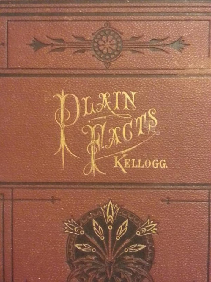 "Victorian Sex Ed book by J. H. Kellogg - ""Plain Facts for Young and Old,"" 1899. 
