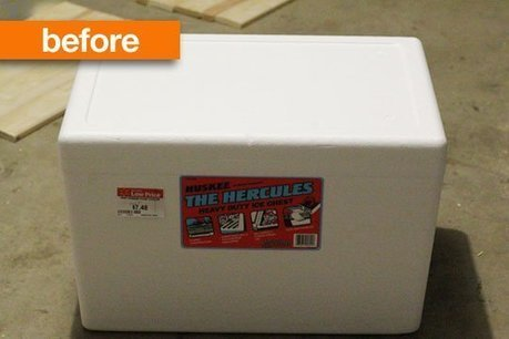 Before & After:  DIY Cooler   Shanty 2 Chic | Mr Brown's Design and Technology | Scoop.it