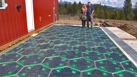Quand le photovoltaïque marche sur la tête | Renewables Energy | Scoop.it