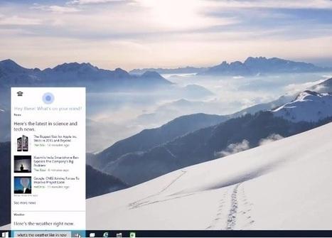 Microsoft Windows 10 Early Build Leaks | Technology News | Scoop.it