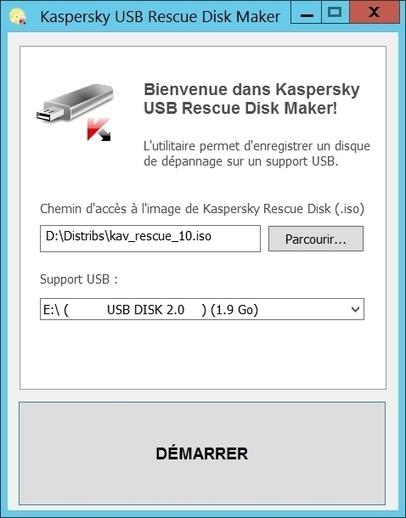 Un antivirus gratuit bootable sur clé USB signé Kaspersky | Informatique | Scoop.it