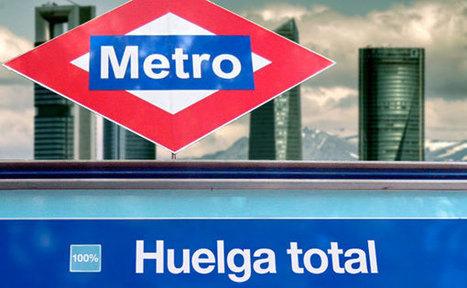 CNA: Metro de Madrid propone a sus trabajadores que renuncien al derecho a huelga en su nuevo convenio | La R-Evolución de ARMAK | Scoop.it