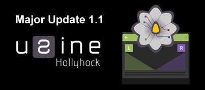 Sensomusic Usine Hollyhock: Major update + introductory price | Experimental music software and hardware | Scoop.it