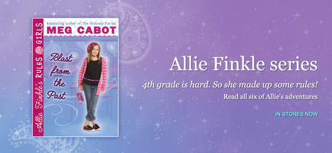 Meg Cabot | Official Website of Bestselling Author of the Princess Diaries and more! | Reading on the Web | Scoop.it