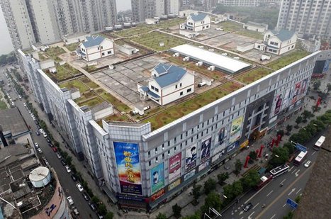 Houses Pop Up On Roof Of Chinese Shopping Mall — The Pop-Up City | Lateral Thinking Knowledge | Scoop.it