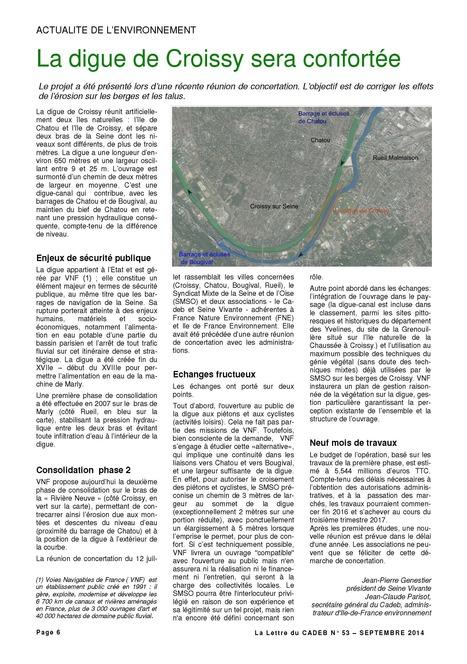 Les digues de Croissy: corriger les effets de l'érosion sur l'ile | Croissy sur Seine | Scoop.it