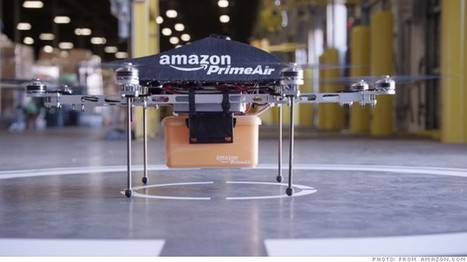 Amazon says drone deliveries are the future | Thinking, Learning, and Laughing | Scoop.it