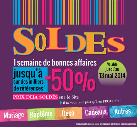 1 semaine de soldes, c'est parti ! | Actualités de la boutique Tendances déco | Scoop.it