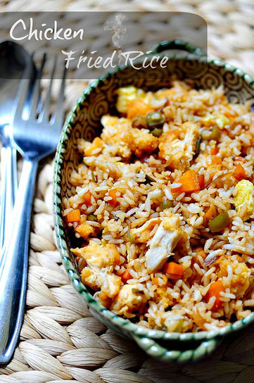 Chicken Fried Rice Recipe: Indian-Chinese Style Recipe | Cooking | Scoop.it