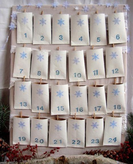 Calendarios de Adviento originales   Manualidades Infantiles   best ideas   Scoop.it
