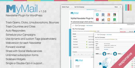 MyMail Email Newsletter Plugin for WordPress Download | PremiumTemplatesDownload | WordPress Helpers | Scoop.it