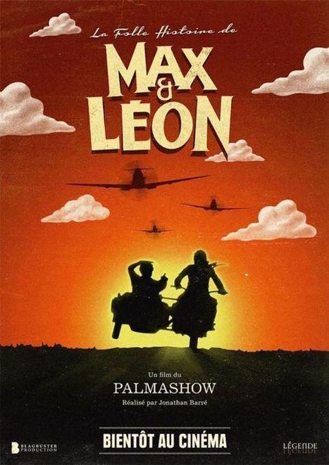La folle histoire de Max et Léon, le premier teaser du film du Palmashow   Freewares   Scoop.it