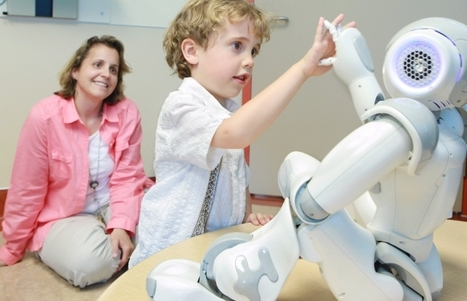 MEDi the robot helps reduce anxiety of kids getting flu shots - Calgary Herald | The Robot Times | Scoop.it