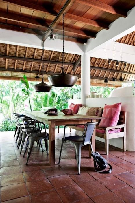 Décoration ethnic chic très naturelle à Bali… | décoration & déco | Scoop.it