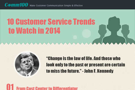 10 Customer Service Trends to Use in Your Business - BrandonGaille.com | Digital-News on Scoop.it today | Scoop.it