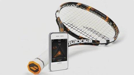 7 objets connectés pour analyser & améliorer votre tennis | Sport 2.0, Sport digital, applications sportives, réseaux sociaux sport, sport connecté | Scoop.it