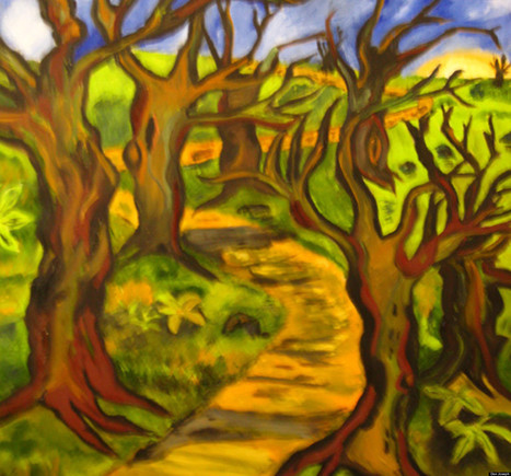 Painting a Path Through the Parkinson's Jungle - Huffington Post (blog) | Special Needs, Special Creativity | Scoop.it