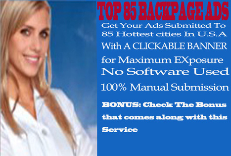 Submit Your ads to 85 hottest cities in U.S.A | marketing that works | Scoop.it