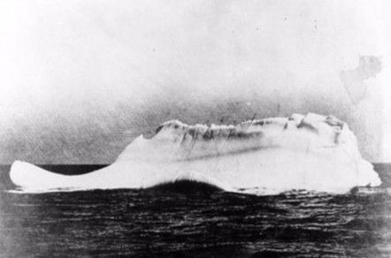 The iceberg that sunk the Titanic, 1912 | All Geeks | Scoop.it