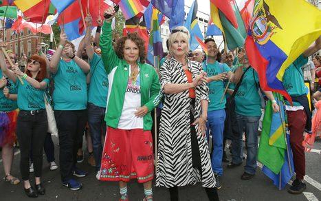 Thousands of revellers celebrate London Pride | Gay Global (LGBT) | Scoop.it