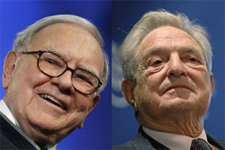 Buffett Vs. Soros: Investment Strategies | Investing and Real Estate | Scoop.it