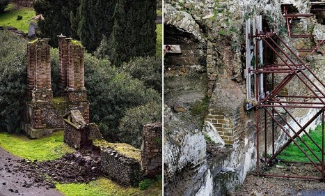 Ancient Roman city of Pompeii starts to CRUMBLE after heavy rain | Collapses in Pompeii and Herculaneum | Scoop.it
