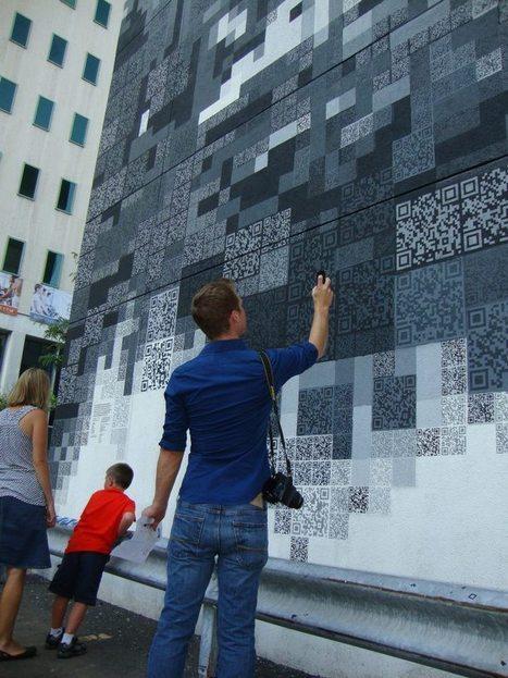 Lemp Building QR Code Mural | Non-profit Tech | Scoop.it
