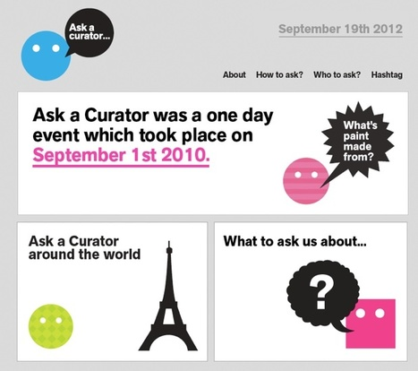 The Line It Is Drawn....: #askacurator - A great model for learning | Digital Curation & Education Project | Scoop.it