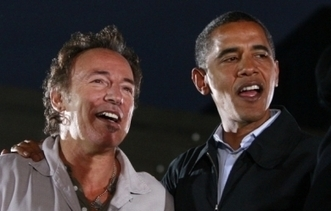 Un renfort de poids pour Obama : Bruce Springsteen - François Clemenceau - leJDD.fr | Bruce Springsteen | Scoop.it