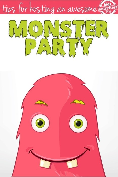 How To Host An Awesome Monster Party | Fiestas & Fêtes pour les petits | Scoop.it
